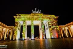 Brandenburger Tor, Festival of Lights 2016