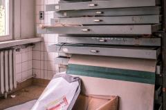 Das Archiv für Hochbauzeichnung, Raum-Luft-Technik-Plänen und Außenanlagen.