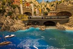 Eine Badebucht in Italien.