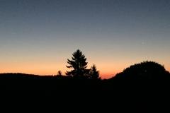 Sonnenaufgang im Südschwarzwald.