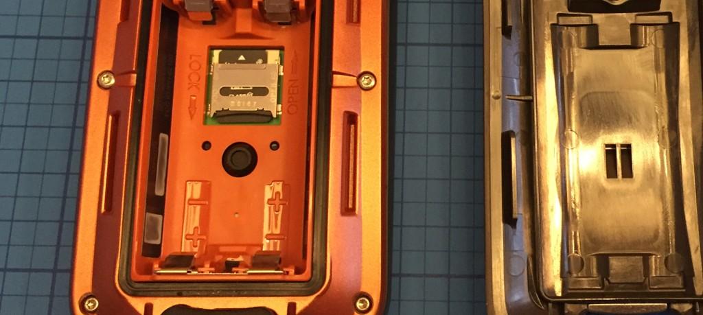 Batterieschacht vom Garmin Oregon (R) 600