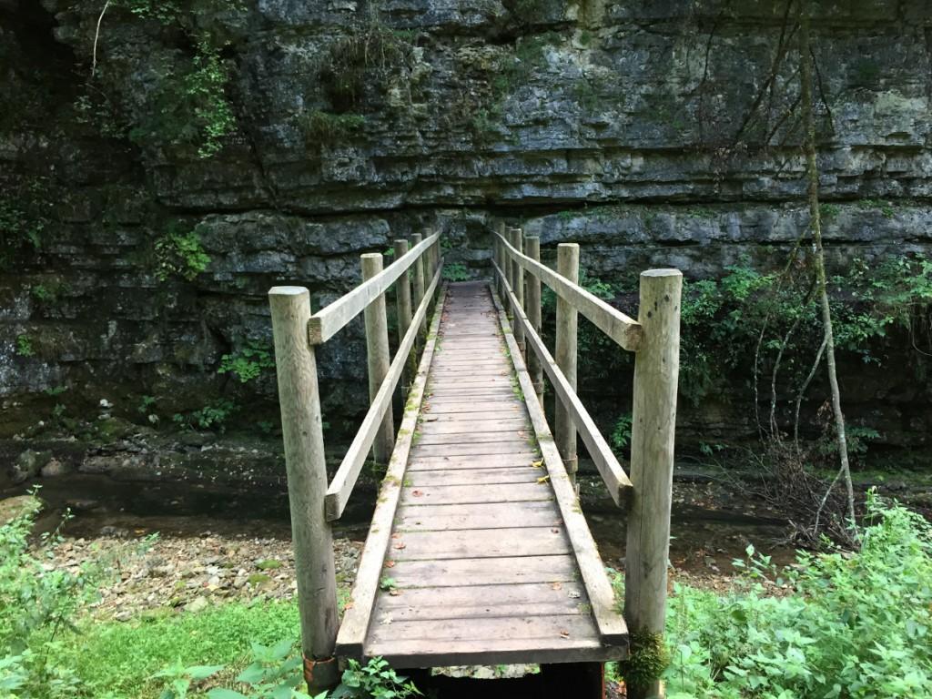 Brücke in der Wutachschlucht