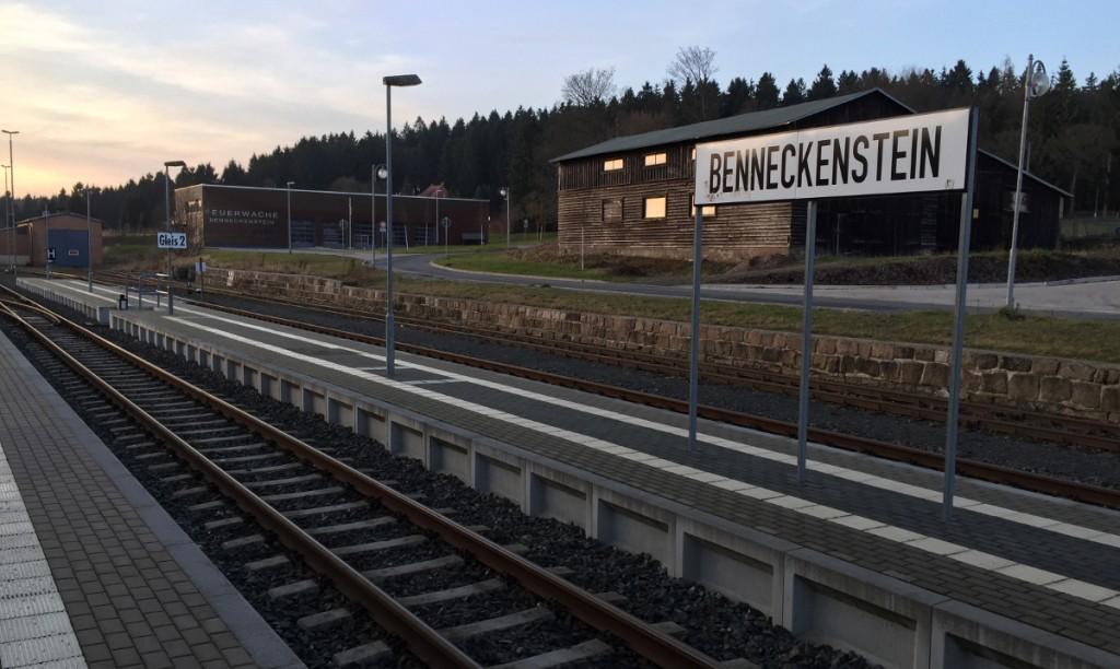 Bahnhof Benneckenstein