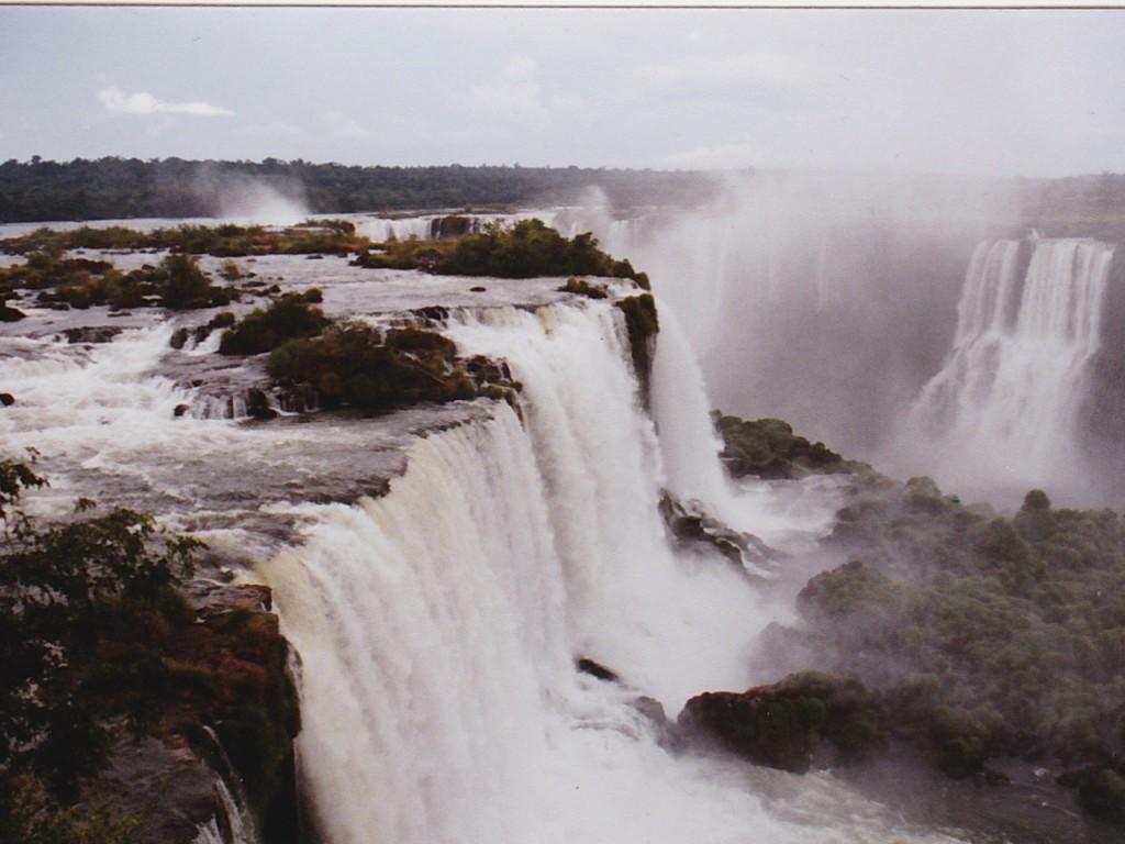 Wasserfall Argentinien