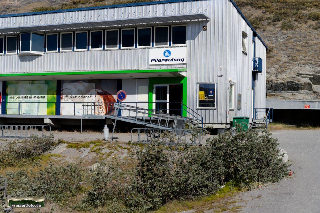 Einkaufzentrum in Kangerlussuaq