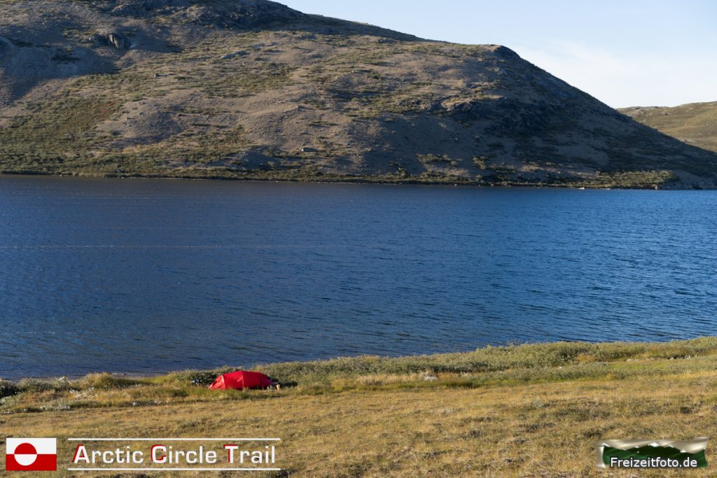 Das erste Lager auf dem Trail.