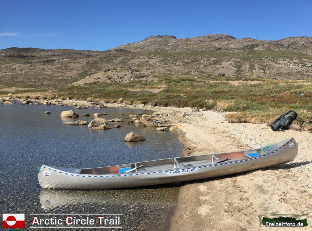 Ein Kanu für unsere nächste Strecke!