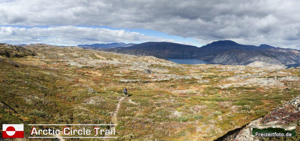 Stellenweise zieht sich der Arctic Circle Trail.