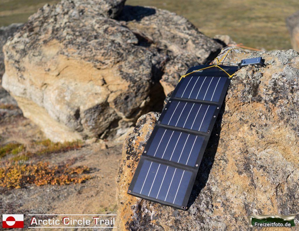 Akkupack laden für Kamera und GPS.