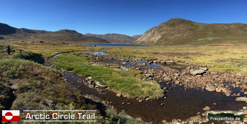 Wir folgen den Arctic Circle Trail.