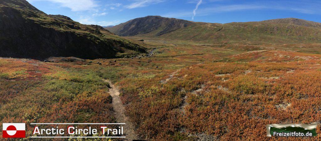 Der Arctic Circle Trail scheint wieder endlos lang.