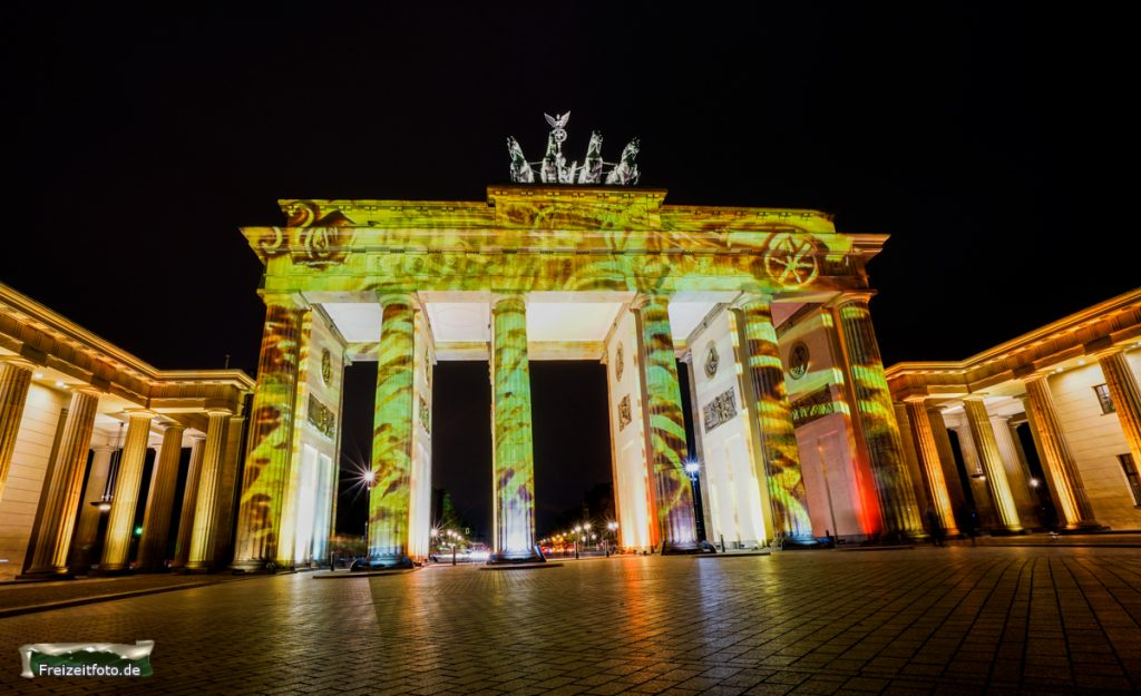 Brandenburger Tor, Festival of Lights 2016