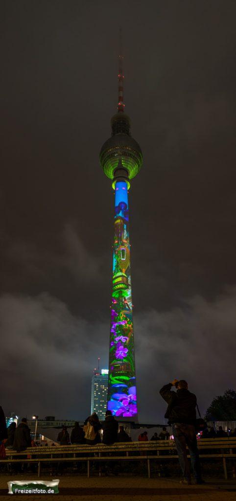 Festival of Lights, Berliner Fernsehturm
