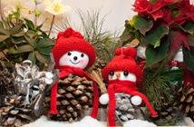 Basteln von Weihnachtswichtel