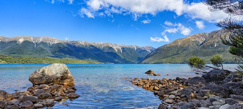 Lake Rotoiti Neuseeland