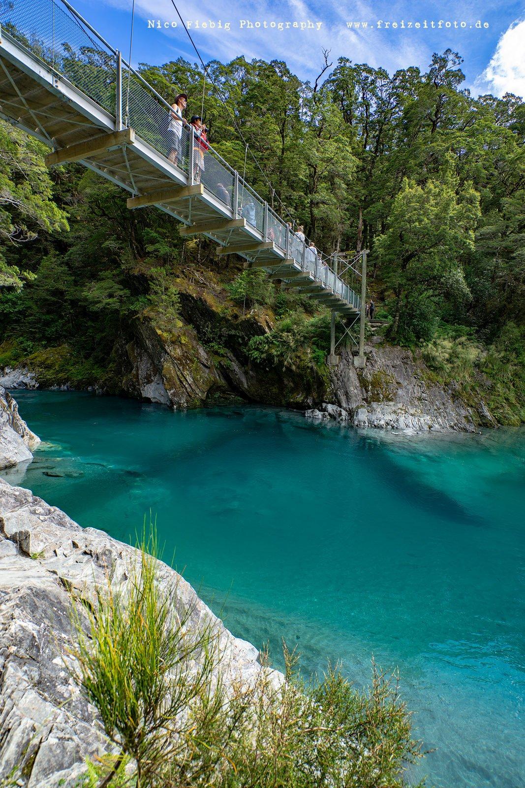 Neuseeland Blue Pools