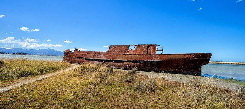 T.S.S. Waverley (Schiffswrack) Neuseeland