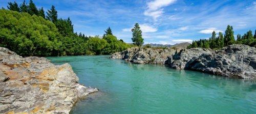 Waiau River Neuseeland