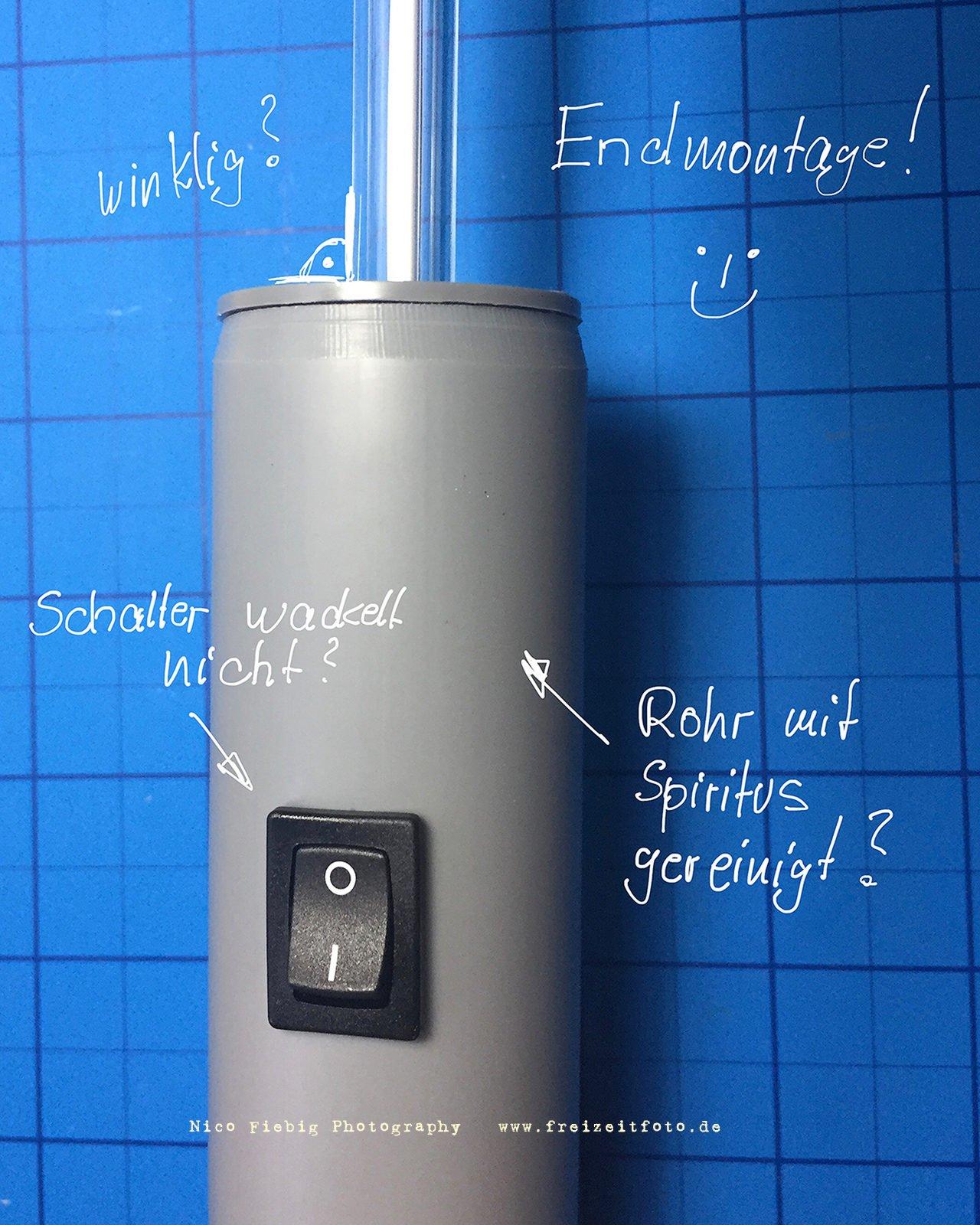 Lightpainting Toolbau - Die Kaltlichtkathode
