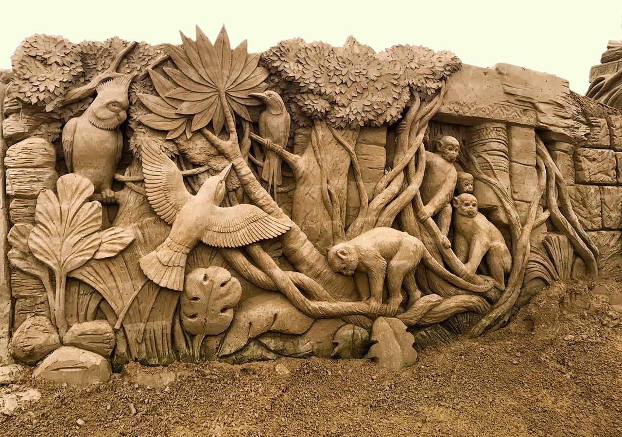 Sandskulpturen Ausstellung Usedom